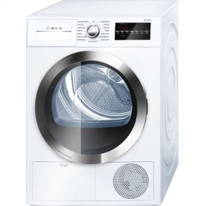 800 Series Cond. Dryer - 208/240V, Cap. 4.0 cu.ft., 15 Cyc.,63 dBA, SS Drum, Chr. Rev./Door Int. Light, ENERGY STAR -