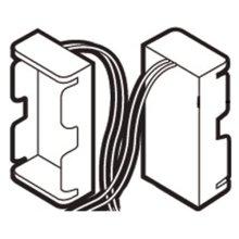 Commercial flush valve battery holder