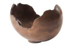 Burled Bowl Bronze