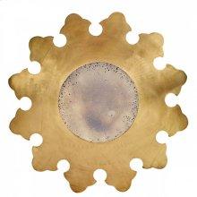 Brass Laura Mirror