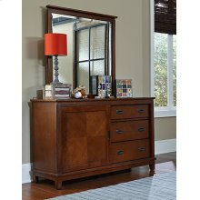 Chadwick Mirror - Misson Oak