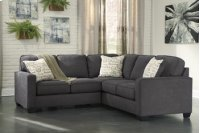 Alenya 3-Piece LAF Sofa Sectional w/ RAF Loveseat (Charcoal) Product Image