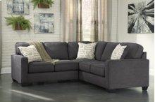 Alenya 3-Piece LAF Sofa Sectional w/ RAF Loveseat (Charcoal)