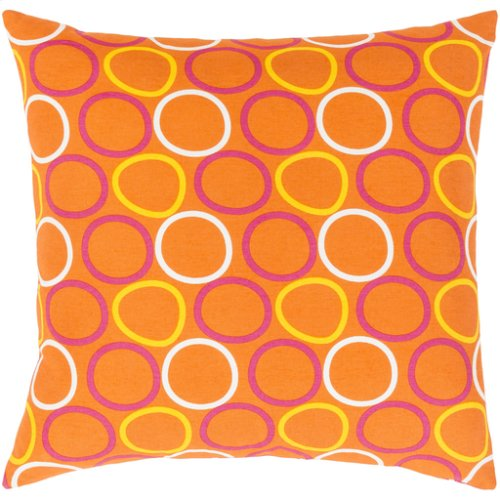 "Miranda MRA-003 22"" x 22"" Pillow Shell with Down Insert"