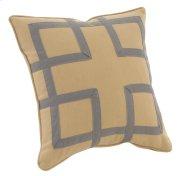 "Decorative Pillows Fretwork (21"" x 21"") Product Image"