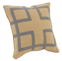 "Decorative Pillows Fretwork (21"" x 21"")"