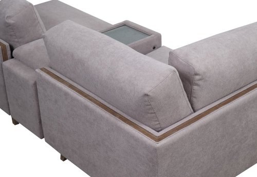 Emerald Home Macyn Modular Corner Dove Gray U5700-14-05