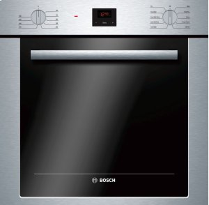 "500 Series 24"", Single Wall Oven, SS, EU Convection, Knob Control, DualClean Product Image"