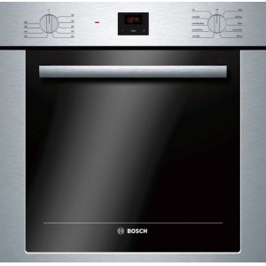 "BOSCH500 Series 24"", Single Wall Oven, SS, EU Convection, Knob Control, DualClean"