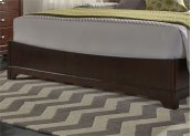 King Panel Footboard & Slats