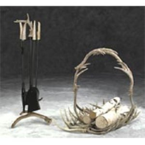 Antler Fireplace Accessories