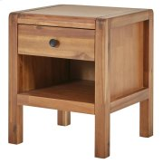 Sorrento Night Stand/Side Table, Newton Brown Product Image