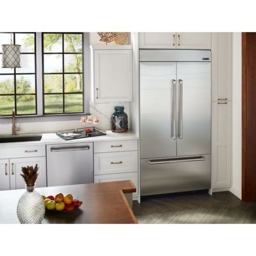Jenn Air Jf42nxfxde 42 Inch Built In French Door Refrigerator In