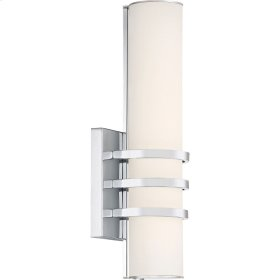 Trinity Wall Sconce in Polished Chrome