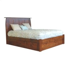 Full Bordeaux Platform Bed