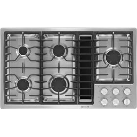 "36"" JX3 Gas Downdraft Cooktop 5 Burner (SKU21ADU49)"