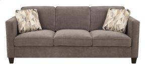 Emerald Home Focus U4286m-00-23 Sofa W/2 Accent Pillows Charcoal U4286m-00-23