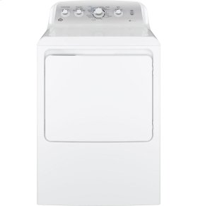 GE® 7.2 cu. ft. Capacity aluminized alloy drum Electric Dryer with HE Sensor Dry