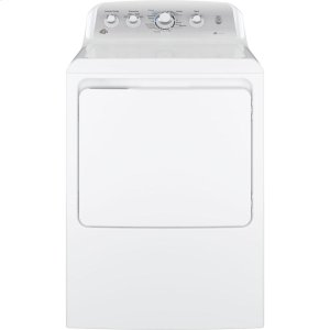 GE®7.2 cu. ft. Capacity aluminized alloy drum Electric Dryer with HE Sensor Dry