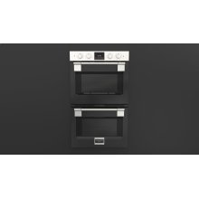 "30"" Pro Double Oven - Glossy Black"