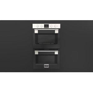 "Fulgor Milano30"" Pro Double Oven - Glossy Black"
