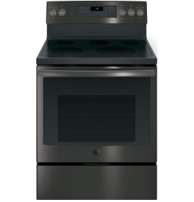 """SCRATCH & DENT- GE® 30"""" Free-Standing Electric Convection Range"""