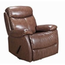 REC-220 Brazil Chocolate Leather Recliner