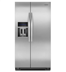 25.6 Cu. Ft. Standard-Depth Side-by-Side Refrigerator, Architect® Series II - Stainless Steel