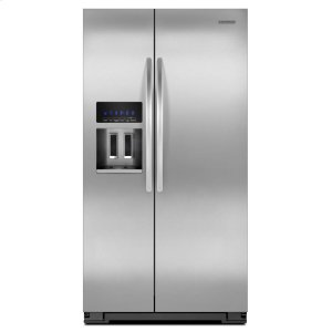 KitchenAid25.6 Cu. Ft. Standard-Depth Side-by-Side Refrigerator, Architect® Series II - Stainless Steel