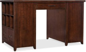 Wendover Utility Desk (Two Bookcase Pedestals)