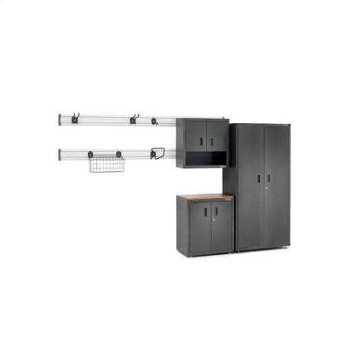 Gladiator® Ready-to-Assemble Large GearBox - Smooth Hammered Granite