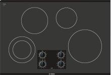 """30"""" Black Electric Cooktop 300 Series - Black NEM3064UC"""