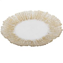 Decorative Plate,Gold Band
