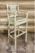 Montana Captains Barstool with Back Product Image