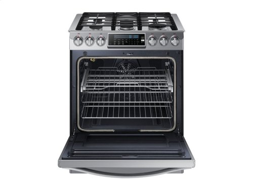 RED HOT BUY! 5.8 cu. ft. Slide-in Gas Chef Collection Range with True Convection