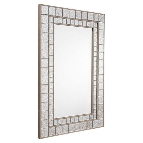Mirror Mini Squares Mirror Antique