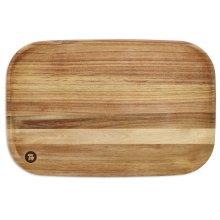 "12"" x 18"" Acacia Cutting Board - Acacia Wood"