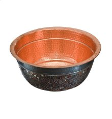 Murano Polished Copper Bath Sink