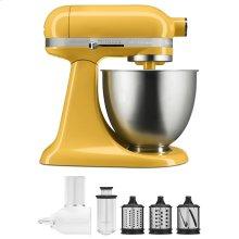 Exclusive Artisan® Series Stand Mixer & Fresh Prep Attachment Set - Orange Sorbet