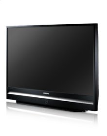 "67"" widescreen DLP® HDTV w/1080p resolution"