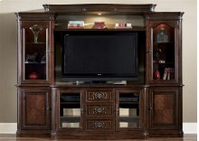 259  Entertainment Center with Piers