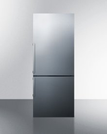 Frost-free Energy Star Certified Bottom Freezer Refrigerator In Stainless Steel With Digital Controls; Replaces Ffbf285ssx