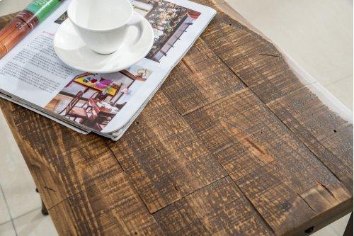 Trenton Rectangular Console Table in Distressed Pine