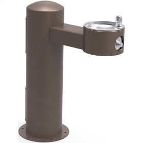 Elkay Outdoor Fountain Pedestal Non-Filtered, Non-Refrigerated Freeze Resistant Brown
