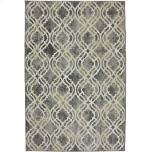 Potterton Ash Grey Rectangle 5ft 3in X 7ft 10in