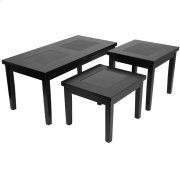 Signature Design by Ashley Denja 3 Piece Occasional Table Set [FSD-TS3-45DB-GG] Product Image