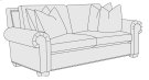 Hampton Loveseat in Mocha (751) Product Image