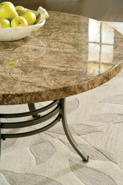 """Collison Faux Marble 3-Pack Tbl Top, C-36""""Round, E-24"""" Round"""