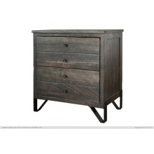 2 Drawer Nightstand