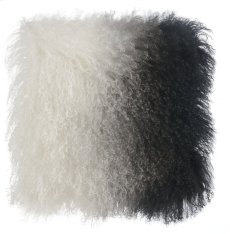 Tibetan Sheep Pillow White to Black Product Image